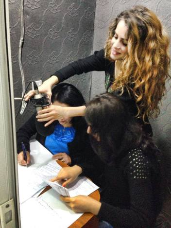 Savina Dawoud. Radio Ashur. Assyrian