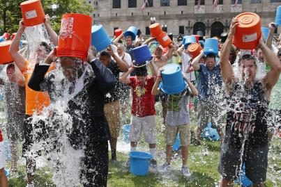ALS Ice Bucket Challenge or KRG. Awat.Azheen